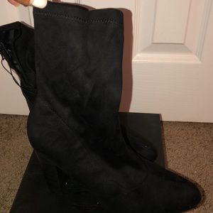 """Forever 21 Shoes - Forever 21 """"sock booties"""""""
